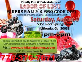 LABOR OF LOVE MOTORCYCLE RALLY & BBQ COOK OFF