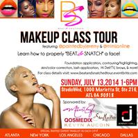 ATL Beat & Snatched Makeup Class w/ MiMi J. and Jeremy...