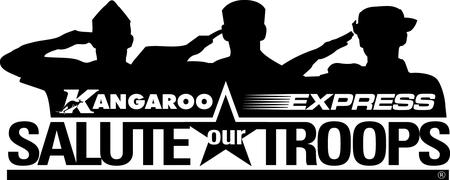 Rockwell Kangaroo Express Salute Our Troops ROO Ride