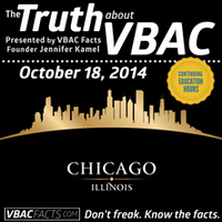 "Chicago ""Truth About VBAC"" Workshop with Jen Kamel"