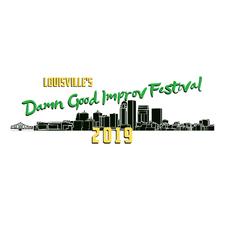 Damn Good Improv Festival logo