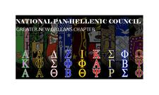 National Pan-Hellenic Council Greater New Orleans Chpater  logo