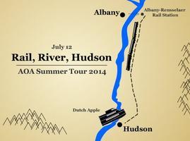 Rail, River, Hudson with AOA