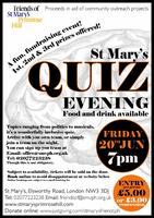 St Mary's Quiz Evening