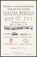 #Chasing Mondays - Industry + Locals Night