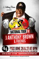 J ANTHONY BROWN & FRIENDS IN RALEIGH, NORTH CAROLINA