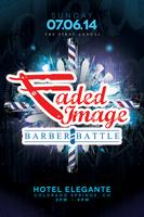 FADED IMAGE BARBER BATTLE