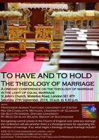 To have and to Hold - the theology of marriage