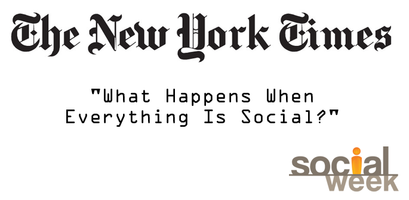 "New York Times Presents, ""What Happens when Everything..."