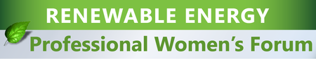 Renewable Energy - Professional Women's Forum