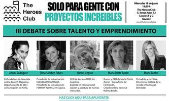 III Debate sobre Talento y Emprendimiento