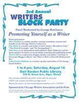 3rd Annual Writers Block Party