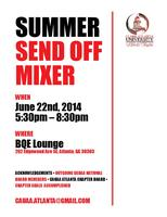 CAUAA Atlanta Chapter presents Summer Sendoff Mixer