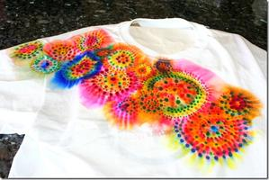 SHARPIE TIE DIE CRAFT