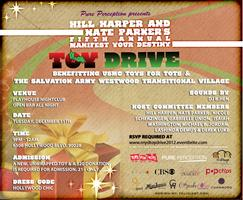 Manifest Your Destiny Toy Drive hosted by Hill Harper/Nate...