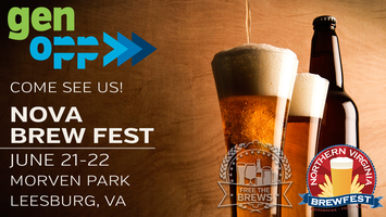 Join GenOpp at the NoVA Brewfest!