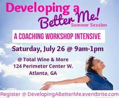Developing a Better Me, Women's Workshop