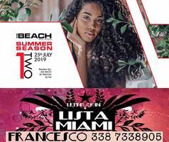 THE BEACH CLUB MILANO - GIOVEDI 25 LUGLIO 2019 - ONE...