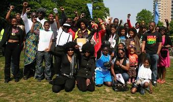 Black Heroes Walk 2014