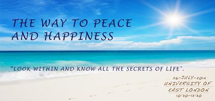 """THE WAY TO PEACE & HAPPINESS - INTERNATIONAL..."