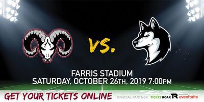 Marshall vs Holmes Varsity Football Tickets, Sat, Oct 26
