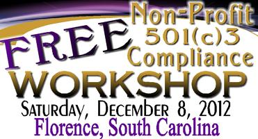 Compliance Workshop for Non-Profit  and/or  501(c)(3)...