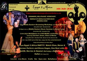Egypt 2 Africa - workshops & party !
