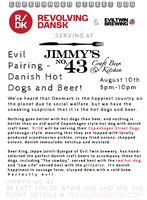 Evil Pairing - Danish Hot Dogs and Craft Beer