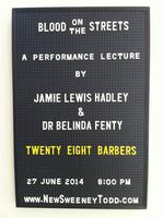 Jamie Lewis Hadley 'Blood on the streets'