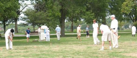 Colonel's Croquet Party on Arsenal Island 2014