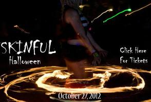 Skinful Halloween Super VIP Cabana Reservations 2012