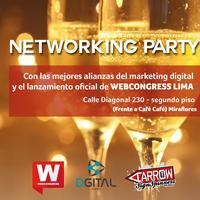 Networking Party / Launch WebCongress Lima