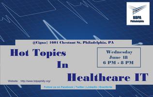 Hot Topics in Healthcare IT