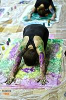 Paint by Yoga - Yoga and Painting Workshop