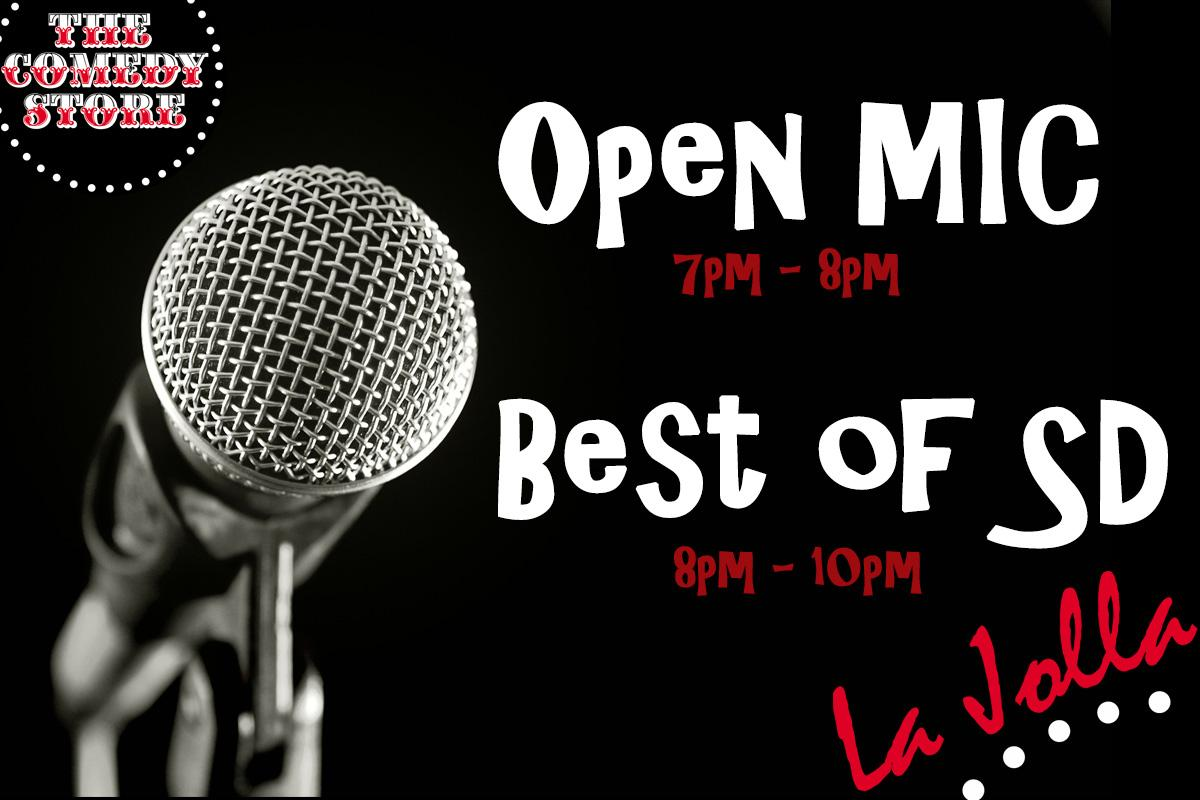 Open Mic + Best of SD (Free Show)