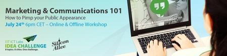Founders' Pit Stop - Marketing & Communications 101