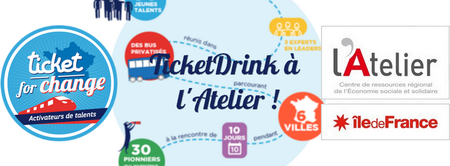 TicketDrink à l'Atelier