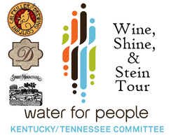 Water For People Wine, Shine, & Stein Tour