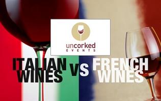 The Italy vs. France Wine Showdown 2012
