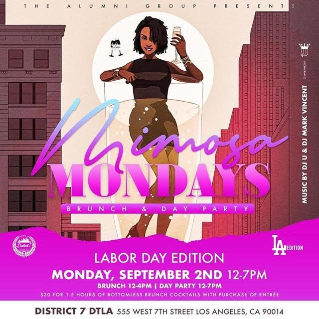 Mimosa Mondays L.A. - Labor Day Edition