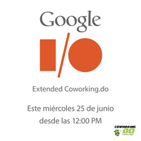 Google I/O Extended Coworking.do