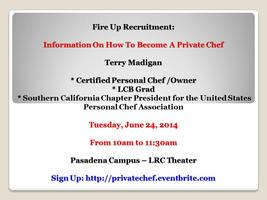 Information On How To Become A Private Chef