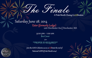 The LOCS Collective Presents The Finale
