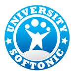 Softonic University logo