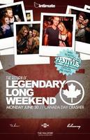 Legendary Long Weekend :: 3 Room Canada Day Crasher @...