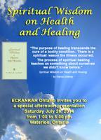 Spiritual Wisdom on Health and Healing