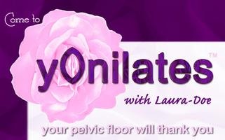 yOnilates course with Laura-Doe, five Wednesdays @ 7pm