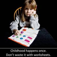 Worksheets, Dittos, & Homework in Early Learning...
