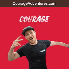 Courage Adventures logo