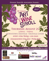 11th Annual Danville Art & Wine Stroll
